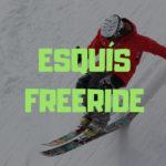 esquis freeride