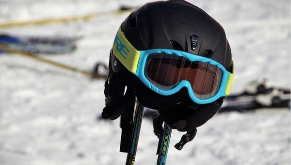 casco esqui mujer