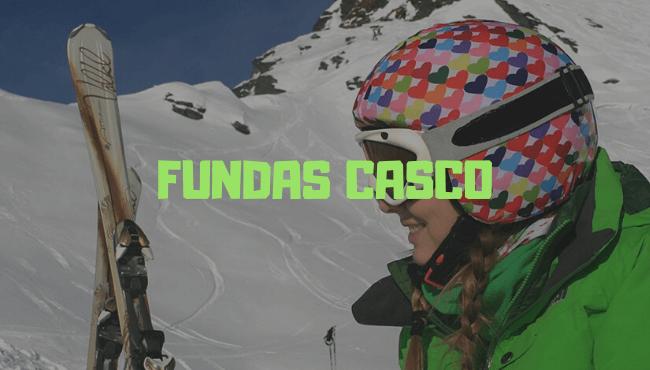 funda casco esqui