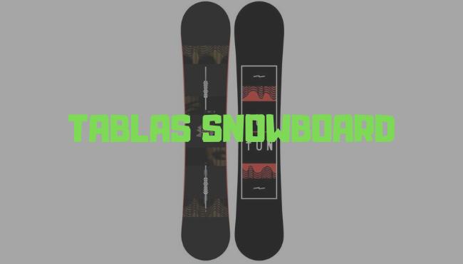 tablas de snowboard barata